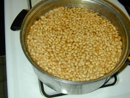Cooked Beans: